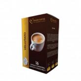 Velvet blend - 16 Coffee Capsules A Modo Mio Compatible by Best Espresso