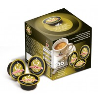 Gold Arabica 16 Lavazza A Modo Mio Compatible coffee capsules by Covim