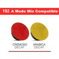 A Modo Mio Decaf - 192 capsules Lavazza A Modo Mio compatible by Italian Coffee