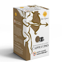 **PRE-ORDER** Cappuccino coffee  16 A Modo Mio Compatible coffee capsules by Best Espresso