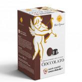 Chocolate 16 Lavazza A Modo Mio Compatible capsules by Best Espresso