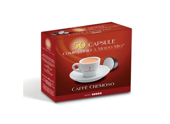 Cremoso Coffee capsules A Modo Mio Compatible in packs of 50  by Portorico
