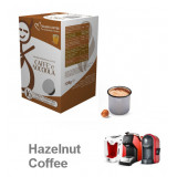 Hazelnut coffee 16 Lavazza A Modo Mio Compatible capsules by Italian Coffee
