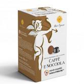 Hazelnut coffee 16 Lavazza A Modo Mio Compatible capsules by Best Espresso