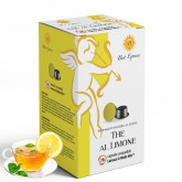Lemon Tea - 16 A Modo Mio Compatible capsules - Italian Coffee -