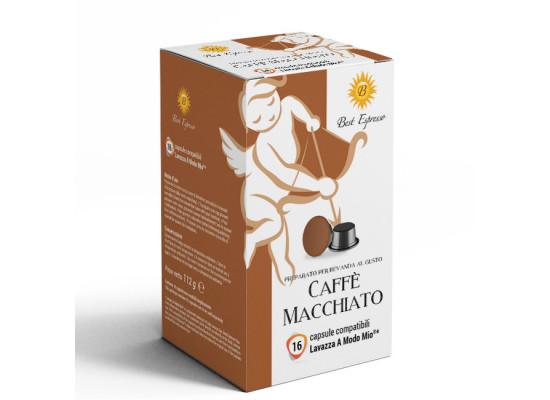 Macchiato coffee 16 Lavazza A Modo Mio Compatible capsules by Best Espresso