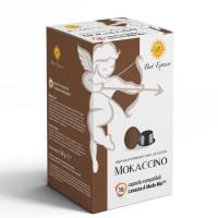 Mokaccino coffee  16 A Modo Mio Compatible coffee capsules by Best Espresso