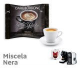 NERA Blend 100 Don Carlo coffee capsules compatibile with A Modo Mio by Borbone