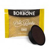 ORO (Gold) Blend 100 Don Carlo coffee capsules compatibile with A Modo Mio by Borbone **PRE-ORDER**