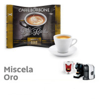 ORO (Gold) Blend 100 Don Carlo coffee capsules compatibile with A Modo Mio by Borbone