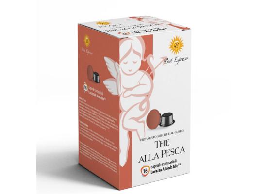 Peach Tea - 16 A Modo Mio Compatible capsules - Best Espresso