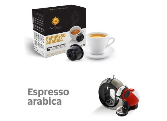 100% Arabica - 16 Coffee Capsules Dolce Gusto Compatible by Best Espresso