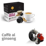 Ginseng coffee - 16 Coffee Capsules Dolce Gusto Compatible by Best Espresso