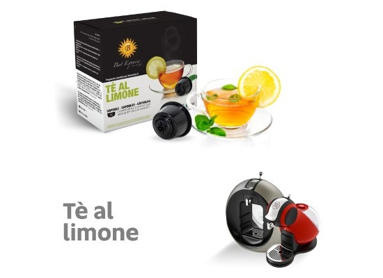 Lemon Tea - 16 Coffee Capsules Dolce Gusto Compatible by Best Espresso