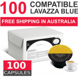 100 capsules Lavazza BLUE compatible   by Italian Coffee