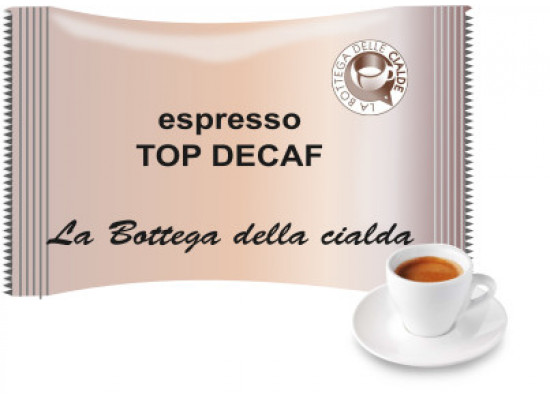 Essenza 50 capsules decaffeinated - BLUE by Italian Coffee