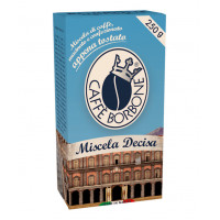DECISO Blend Groound coffee 250gr pack by Borbone