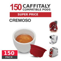 Cremoso - 150  Coffee Capsules Caffitaly Compatible by Best Espresso