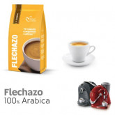 Flechazo - 100% Arabica Colombia and Brazil - 12  Coffee Capsules Caffitaly Compatible by Italian Coffee