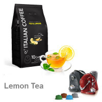 Lemon Tea  - 10  Coffee Capsules Caffitaly Compatible by Best Espresso