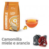 Orange Camomile Tea  - 12  Coffee Capsules Caffitaly Compatible by Italian Coffee