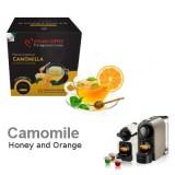 Orange Camomile Tea  10 capsules Nespresso compatible by Italian Coffee