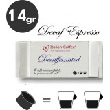 Decaf espresso - 25 coffee capsules compatible with Espresso Point MAXI - 50 coffee by Italian Coffee