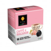 Macaron Coffee Macchiato - 16 Cortado Capsules Dolce Gusto Compatible by Best Espresso**LEAVES WAREHOUSE FIRST WEEK OF OCT**