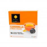 Orange Camomile Tea - 16 Coffee Capsules Dolce Gusto Compatible by Best Espresso