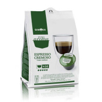 Cremoso - 16 Coffee Capsules Dolce Gusto Compatible by Gimoka