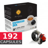 Decaf coffee - 192  Capsules Dolce Gusto Compatible **PASSED BEST BEFORE DATE**