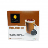 Mokaccino Coffee - 16 Mokaccino Capsules Dolce Gusto Compatible by Best Espresso**LEAVES WAREHOUSE FIRST WEEK OF OCT**