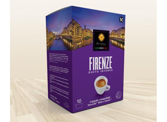 Firenze espresso intenso - 80 Coffee Capsules Dolce Gusto Compatible by Best Espresso