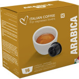 100% Arabica - 16 Coffee Capsules Dolce Gusto Compatible by Italian coffee