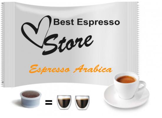 100% Arabica espresso - 50 coffee capsules compatible with Espresso Point MAXI - 100 coffee by Best Espresso