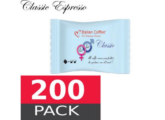 Classic espresso - 200 capsules pack Espresso Point MAXI compatible