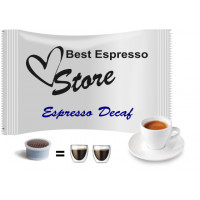 Decaf espresso - 25 coffee capsules compatible with Espresso Point MAXI - 50 coffee by Best Espresso
