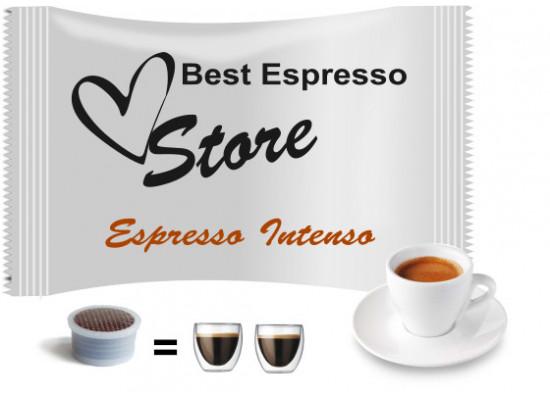 Intenso espresso - 25 coffee capsules compatible with Espresso Point MAXI - 50 coffee by Best Espresso