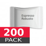 Espresso Robusto by Italian Coffee - 200 capsules pack  Espresso Point MAXI compatible