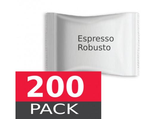 Espresso Robusto by Italian Coffee - 200 capsules pack  Espresso Point MAXI compatible