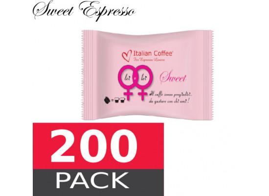 Sweet espresso - 200 capsules pack  Espresso Point MAXI compatible