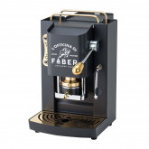Pro Deluxe Mat Black ESE pods Machine - Luxury at home by Faber