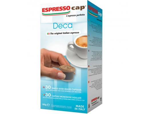 DECAF -  30 coffee Capsule Termozeta Espresso Cap