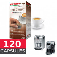 TOP CLASSIC - Full Box -  120 coffee Capsule Termozeta Espresso Cap