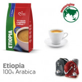 Ethiopia Single Origin 100% Arabica Coffee - 12  Coffee Capsules Caffitaly Compatible by Italian Coffee