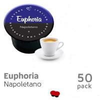 Euphoria 50 capsules Napoletano  - BLUE by Italian Coffee