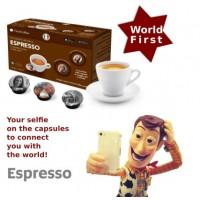 Espresso coffee  A Modo Mio compatible capsules by Facecoffee