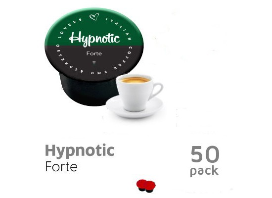 Hypnotic 50 capsules strong- BLUE by Italian Coffee