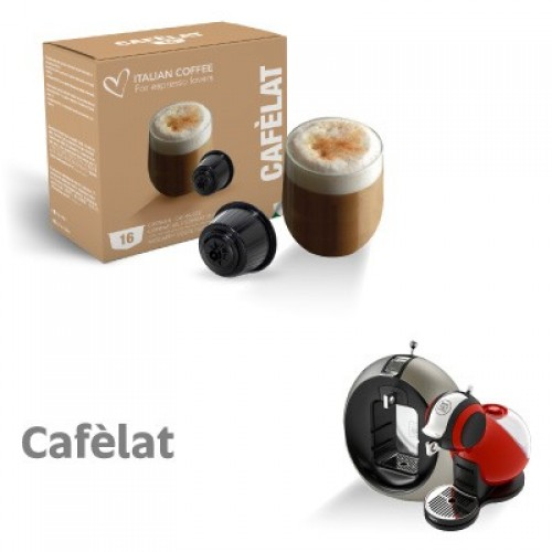 italian coffee caf lat dolce gusto compatible. Black Bedroom Furniture Sets. Home Design Ideas