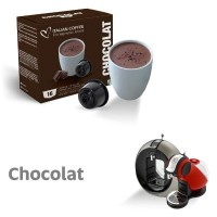 Chocolat - 16 velvety hot chocolate Capsules Dolce Gusto Compatible by Italian coffee
